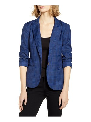 BB Dakota trail blazer plaid blazer