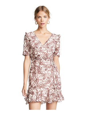 BB Dakota twirl wind chiffon dress