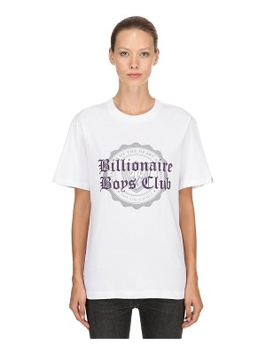 BBC-BILLIONAIRE BOYS CLUB College flocked cotton jersey t-shirt