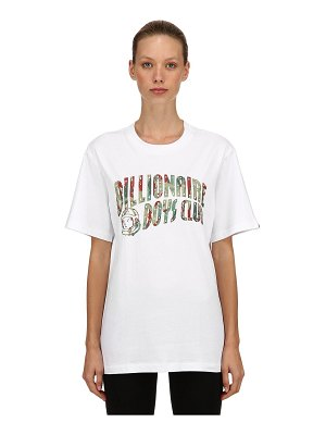 BBC-BILLIONAIRE BOYS CLUB Reflective logo printed jersey t-shirt