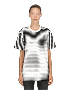 BBC-BILLIONAIRE BOYS CLUB Striped cotton jersey t-shirt