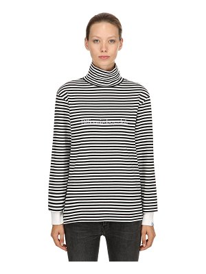 BBC-BILLIONAIRE BOYS CLUB Striped jersey long sleeve t-shirt