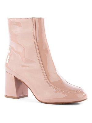 BC Footwear after all vegan leather bootie