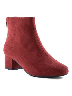 BC Footwear anything is possible vegan leather bootie