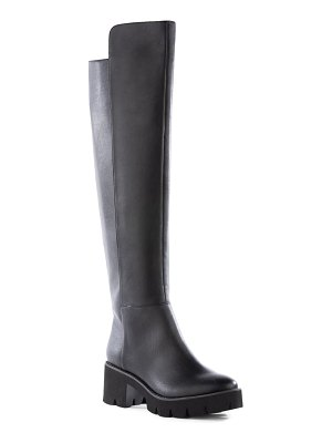 BC Footwear statuesque over the knee vegan leather boot