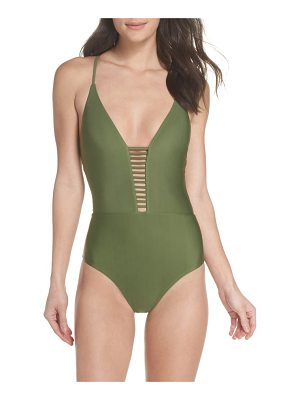 BCA enchanted solid one-piece swimsuit