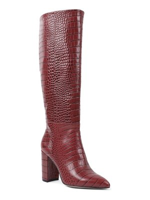 BCBGeneration baylee croc embossed knee high boot