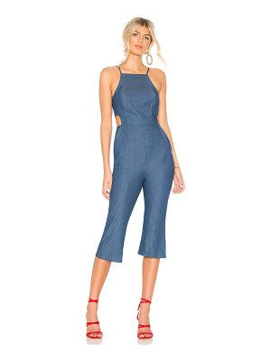 BCBGeneration Cropped Flare Jumpsuit