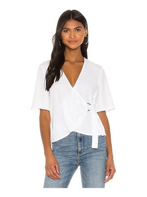 BCBGeneration d ring wrap front top