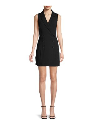 BCBGeneration Double-Breasted Mini Dress