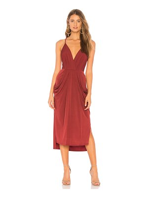 BCBGeneration Midi Faux Wrap Dress