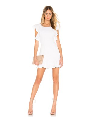 BCBGeneration ruffle sleeve mini dress