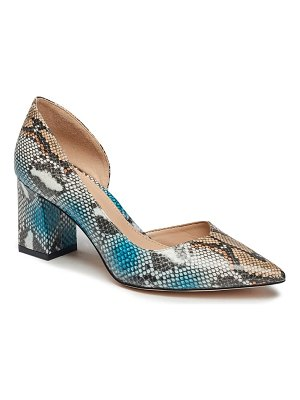 BCBGeneration sheilah snake embossed pointed toe pump