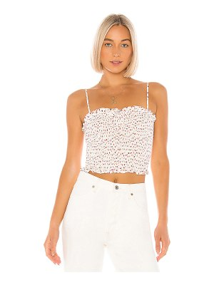BCBGeneration smocked crop top