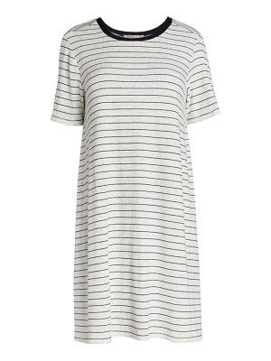 BCBGeneration Striped A-Line Day Dress