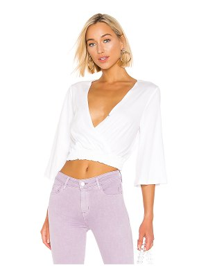 BCBGeneration surplice knit top