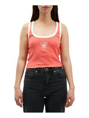 BDG Urban Outfitters bdg urban outiftters organic cotton illinois scoop tank