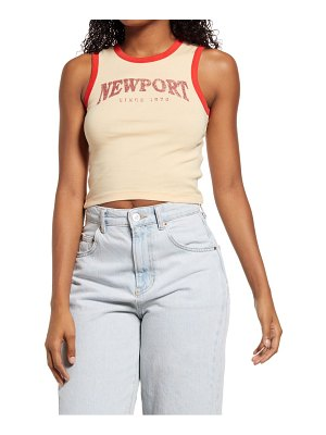 BDG Urban Outfitters newport organic cotton ringer tank