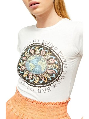 BDG Urban Outfitters protect our world graphic baby tee