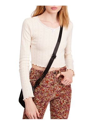 BDG urban outfitters tulip pointelle top