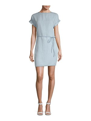 Beach Lunch Lounge Belted Shift Dress