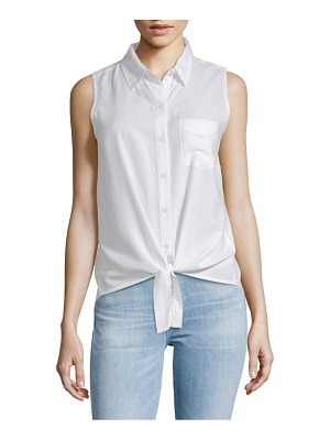 Beach Lunch Lounge Front-Tie Sleeveless Top