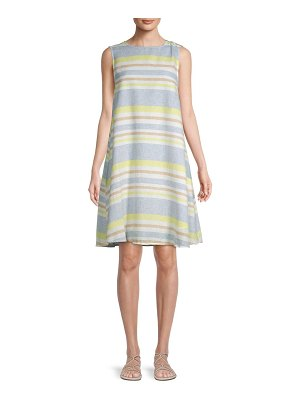 Beach Lunch Lounge Mali Draped Shift Dress