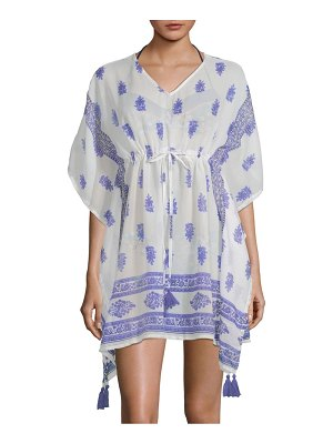 Beach Lunch Lounge Paisley Cover-Up Dress