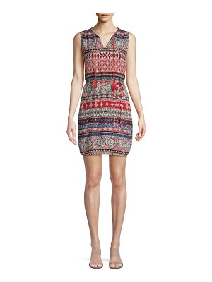 Beach Lunch Lounge Printed Shift Dress