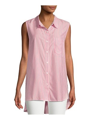 Beach Lunch Lounge Striped Hi-Lo Top