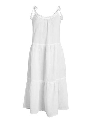 Beach Lunch Lounge Willa Tiered Tank Dress Coverup