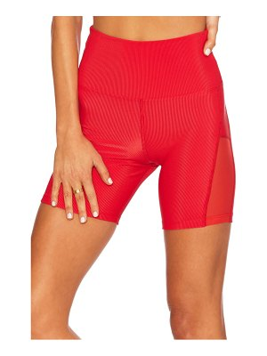 Beach Riot toni rib bike shorts