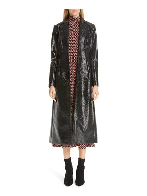 Beaufille coated cotton trench coat