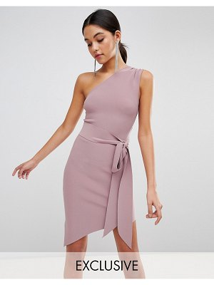 Bec & Bridge Exclusive Tie Asymetric Dress