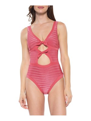 Becca canyon mesa one-piece swimsuit