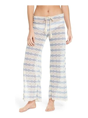 Becca copa cabana crochet cover-up pants