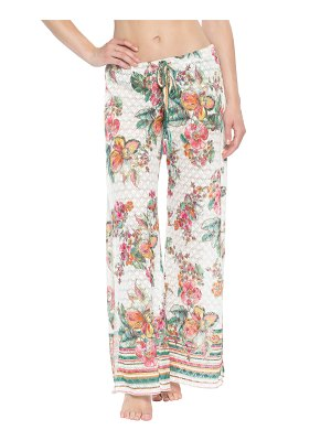 Becca emma slit-leg cover-up pants