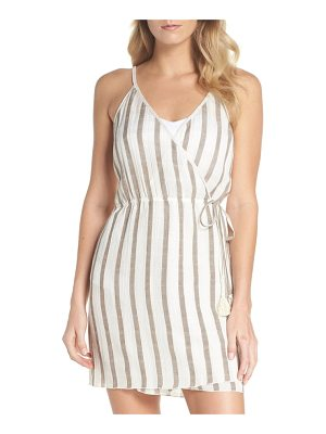 Becca serengeti cover-up wrap dress