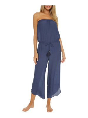 Becca strapless cover-up jumpsuit