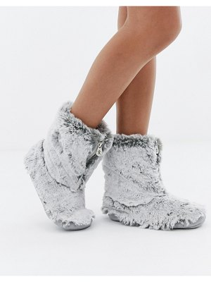 Bedroom Athletics cole short faux fur slipper boot