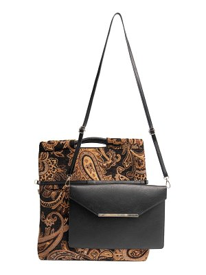 BEIS the messenger handbag with removable clutch