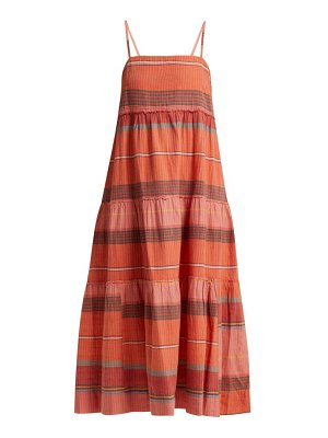 Belize striped cotton dress
