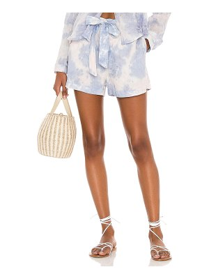 Bella Dahl belted button front shorts