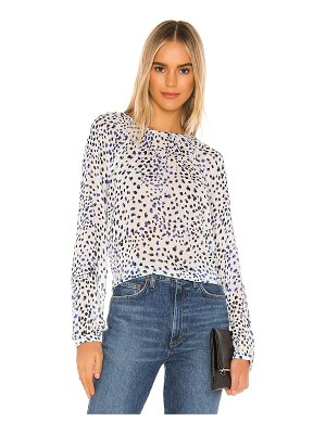 Bella Dahl button back raglan sleeve top