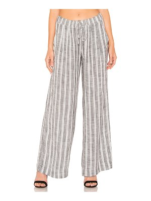 Bella Dahl pleated front wide leg pant
