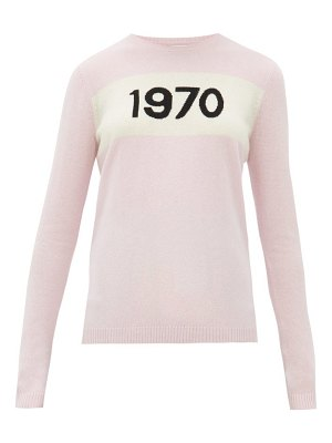 Bella Freud 1970-intarsia cashmere sweater