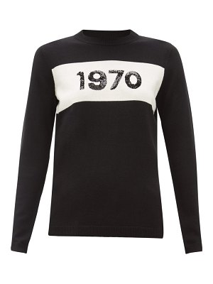 Bella Freud 1970 sequinned wool sweater