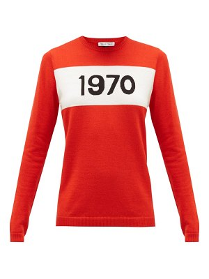 Bella Freud 1970 wool sweater