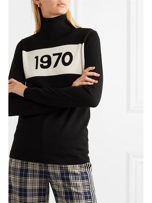 Bella Freud 1970 wool turtleneck sweater
