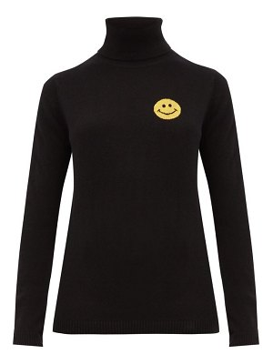 Bella Freud happy roll neck cashmere blend sweater